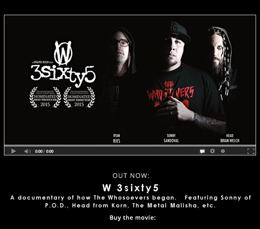 The Whosoevers 3sixty5